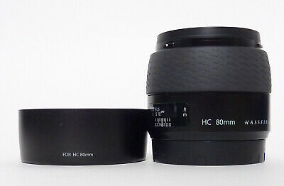 Hasselblad HC 80mm F2.8 with Hood and Caps - Excellent Plus Condition