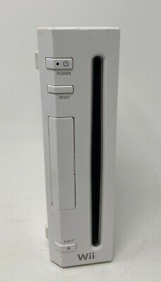 Nintendo Wii Console Only RVL-001 White Gamecube Compatible Tested