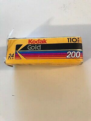 Vintage Kodak Film 200 24 Exposures 110 Film Expired 09/1995 New Open Box