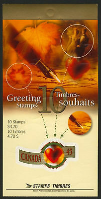 Canada 1569a BK182b Booklet MNH Greetings