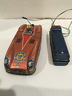 VINTAGE ASC JAPAN  BATTERY OPERATED JAGUAR CARS LTD COVENTRY As-Is