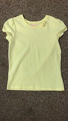 Girls Age 7-8 Years Young Dimension Yellow Tshirt