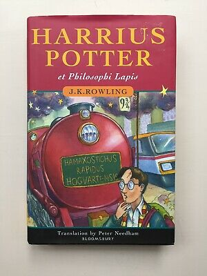 LATIN Harry Potter and the Philosopher's Stone Hardback J K Rowling Rare
