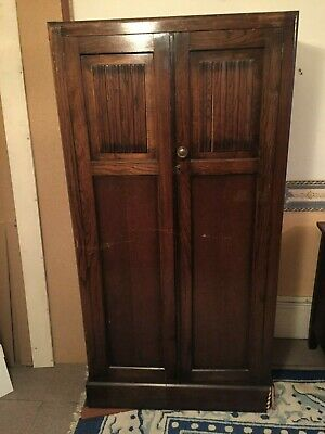 Vintage Antique Gentleman's Wardrobe