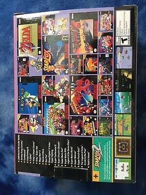 Super Nintendo Entertainment System SNES Classic Edition HDMI Not Included
