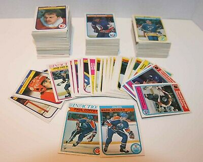 82/83 OPC - SINGLES - U PICK FROM LIST - COMPLETE YOUR SET - .25c COMBINED SHIP