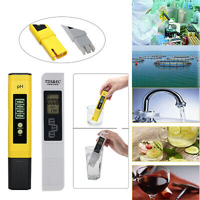 Digital Electric TDS/PH Meter Tester Hydroponics Water Test Pen High Quality UK