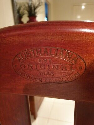 Australiana Heirloom Collection Baby Cot And Mattress