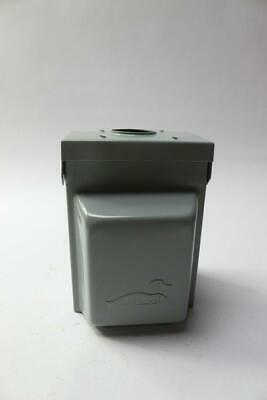 Midwest Lockable Heavy Gauge Temporary RV Power Outlet Box Rainproof 240V 50A