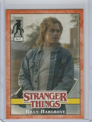 Topps Stranger Things Welcome to the Upside Down Billy Hargrove No. 17 74/99