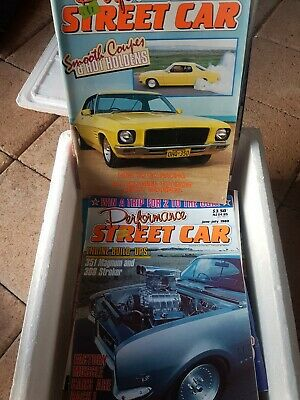 Bulk Car & Street/Rod Classic/Unique Magazines Early 80S Up.