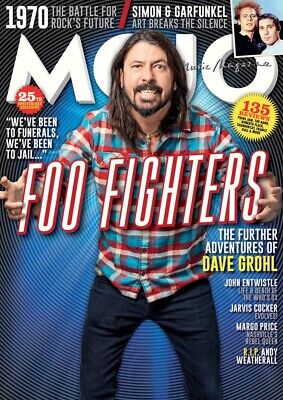 Mojo Magazine May 2020 - Featuring Foo Fighters