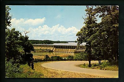 Dam postcard Bagnell Dam, Lake of the Ozarks, Missouri MO