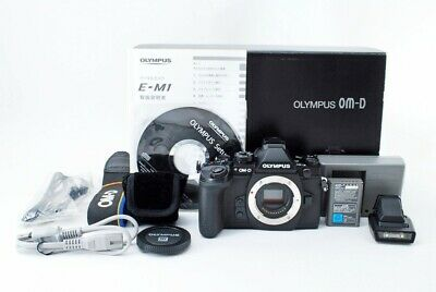 【NearMint/ShutterCount14824】 OLYMPUS OM-D E-M1 body with box #558746