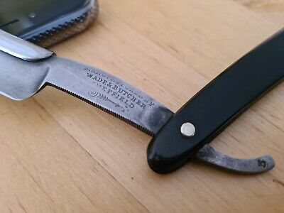 Wade & Butcher Straight Razor Cutthroat Vintage Sheffield - Fantastic Condition