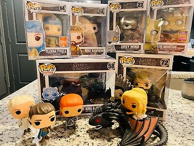 Funko Pop: game Of Thrones Lot: Renly, Olenna, Arya READ