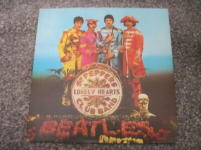 THE BEATLES Sgt Pepper  EP    PARLOPHONE/EMI RIM   near mint