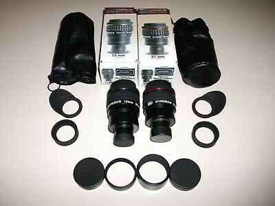 Baader Hyperion 10mm & 21mm Modular Eyepieces + Fine Tune Rings