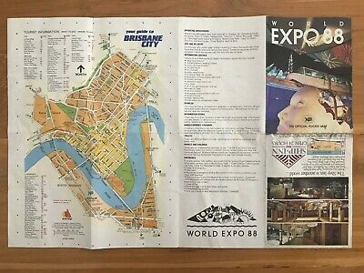World Expo 88 -  Official Pocket Map