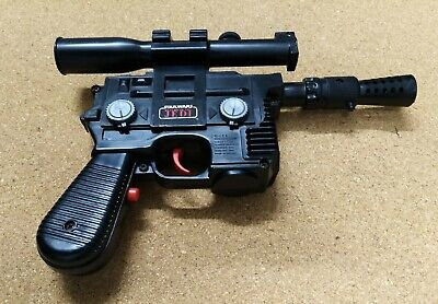 Return Of The Jedi 1978 Han Solo Blaster In Very Good Working Condition.