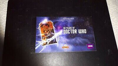 Royal Mail 50 YEARS OF DOCTOR WHO PRESTIGE STAMP BOOK.