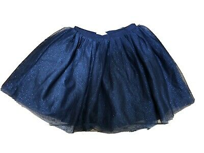 Girls H&M sparkly Bright Pink Tulle Skirt Age 8-10 Years
