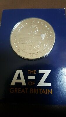 2018 five 10p alphabet coins with collectors medal uncirculated