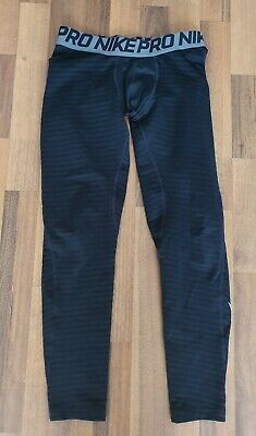 Boys Nike Pro Under Armour Tights (L) Age 10