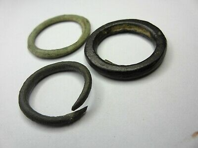 Ancient Iron Age Celtic Bronze Ear Nose Money Rings Harness: Detecting Finds