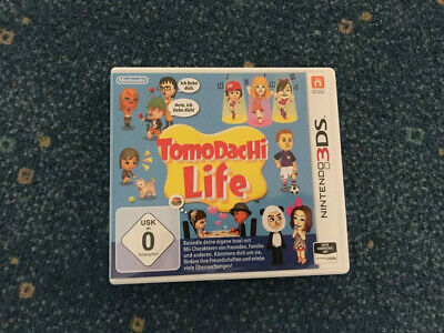 Tomodachi Life (Nintendo 3DS, 2014) inkl. OVP, Top Zustand