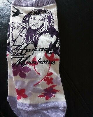 Gorgeous Girls Disney's Hannah Montana Socks, 1 Pair, 6-8.5 *Brand New*