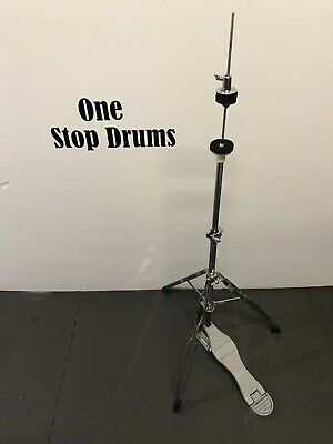 Hi Hat Cymbal Stand Drum Double Braced Hardware Inc Clutch #HH060