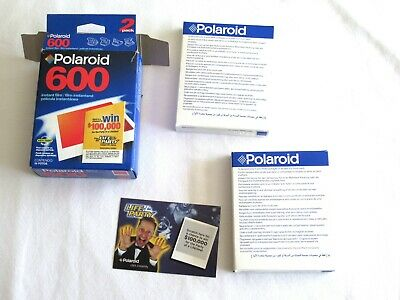 NON WORKING Polaroid 600 Instant Film 20 Exp Open Pack w/ Sealed Packs Exp 01/03