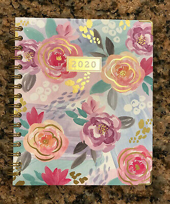 Mintgreen 2020 Planner Monthly Agenda Floral 9 x 7.5, New, Ships Within 24 Hrs