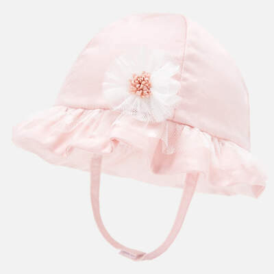 New Mayoral Baby Girl hat, Age 0-1 months (9256)