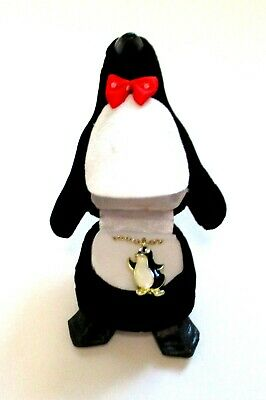 Child's PENGUIN Pendant Necklace with Matching Penguin Gift Box NEW