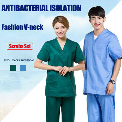 Non-woven Reusable Coveralls Clothing  Protective Safety Overalls Suit Isolation