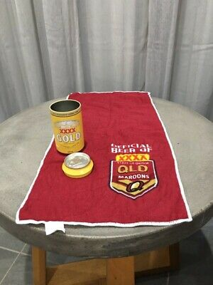 State Of Origin XXXX Gold Can With Towel/Mat