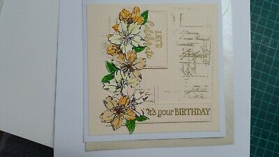 Handmade Greeting Card Female Birthday