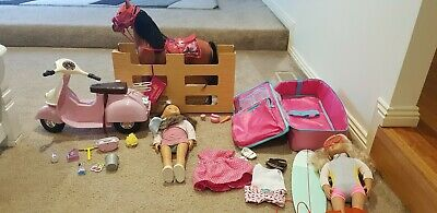 Our Generation Dolls And Lots Of Accessories