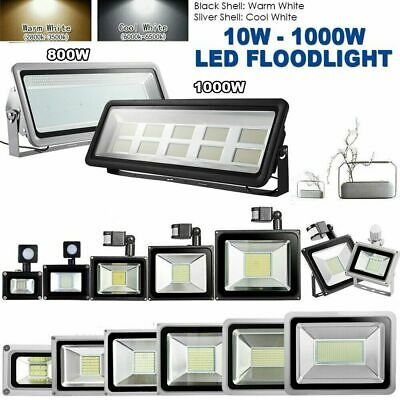 Floodlight PIR Motion Sensor 20W 30W 50W 100W Outdoor Security LED Flood Lights