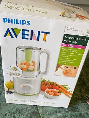 Philips Avent Baby Steamer and Blender with Box