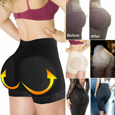 Women Booty Shaper Padded Panty Butt Lifter Enhancer Underwear Buttock Shapewear