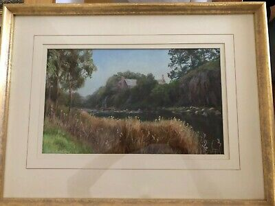 Konstanty Kucewicz Framed Pastel Drawing