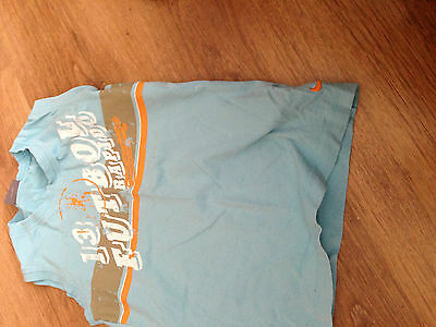 boys age 5/6 blue cotton Nike vest top good condition been worn 100% authentic