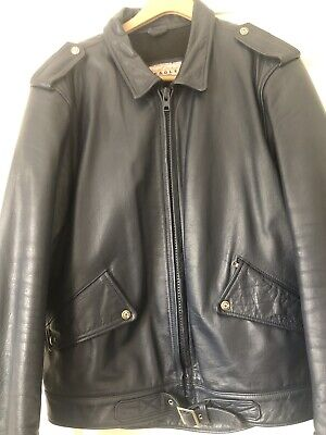 Obsolete Police Style Mens Leather Motorcycle Jacket &Breeches.New Listing