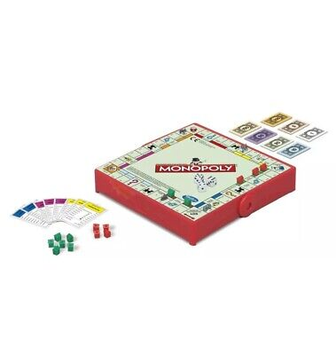 Hasbro Family Gaming Grab And Go Monopoly Travel Game Hasbro Home Play Time