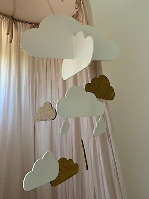 Country Road baby cloud mobile unisex