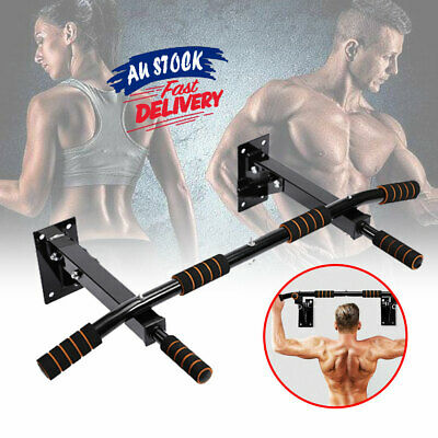 Pull Up Bar Gym Ceiling  Home Mounted Chin Up Bar Heavy Duty  ACB#