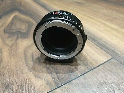 Viltrox NF-FX1 Adapter For Nikon AI(G)/AF G&D Series Lens to Fujifilm FX X Mount
